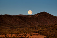 Moon sets on Philmont
